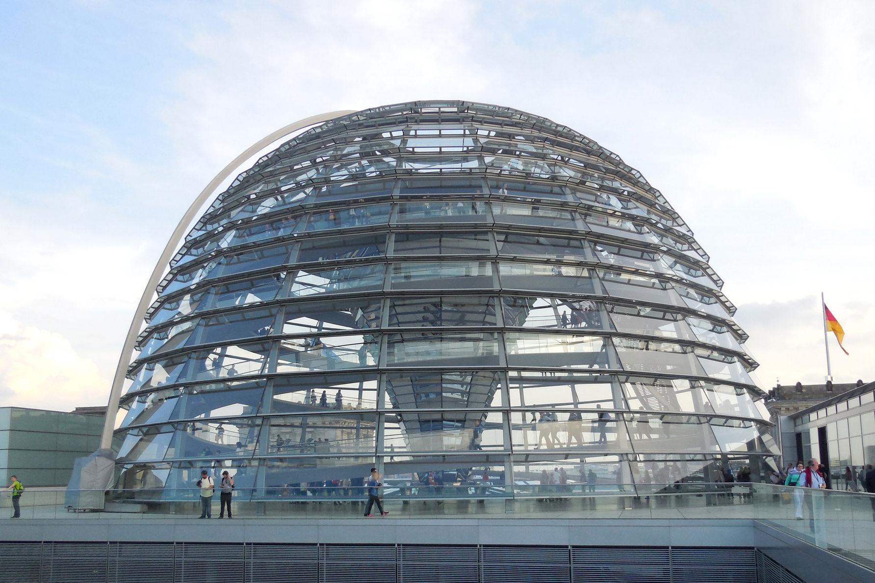 德国国会大厦改造
