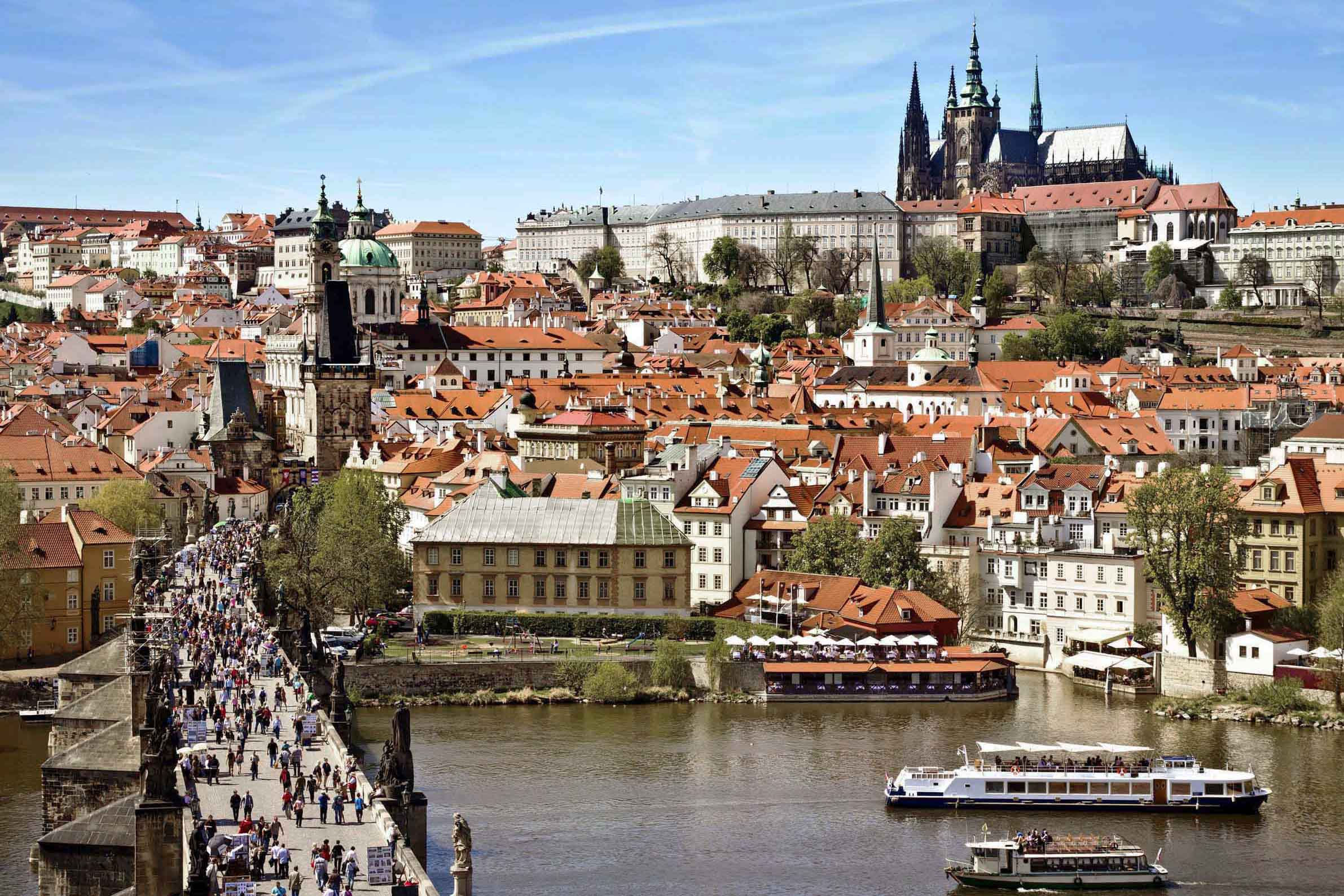 布拉格老城区