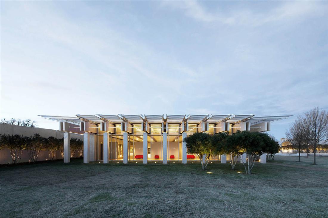 金贝尔美术馆扩建