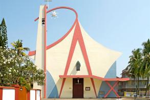 为什么印度喀拉拉邦的教堂如此独特?