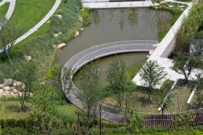 劝学公园景观:找寻最合适的设计 / 张唐景观
