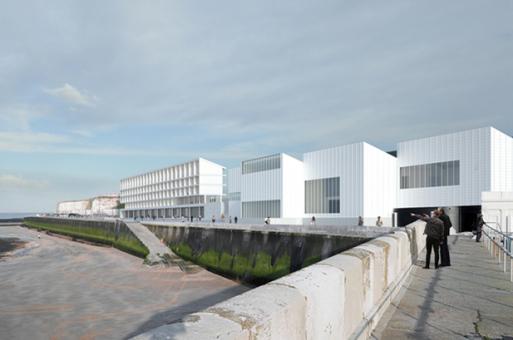 透纳当代美术馆延伸项目:透纳旅社 / David Chipperfield Architects