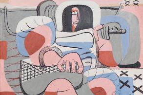展讯 | 柯布珍贵画作自1966年以来首次对公众展出