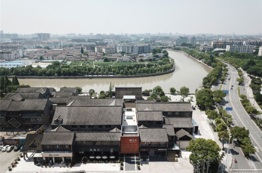 重新浮现的秩序与生活:扬州壹点文创街区 / 普罗建筑