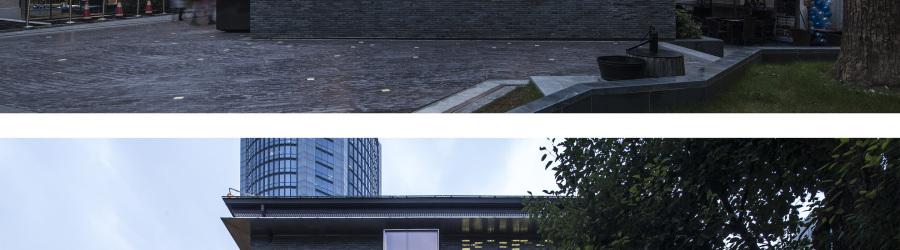 上海衡山路890弄(衡山和集)8号楼外立面
