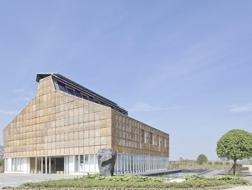 綠色建筑 | 清控人居科技示范樓 - 用最舊建材體現最新理念,來自建筑師宋曄皓