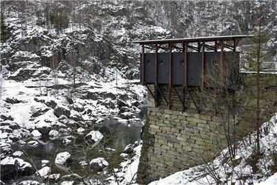 彼得·卒姆托 | 漂浮在挪威Allmanna山谷里的锌矿博物馆