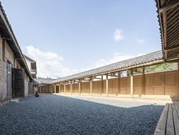 贵州茅贡镇粮库艺术中心,场域建筑作品