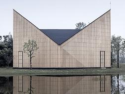 张雷:富于宗教意向的理想形式,南京万景园小教堂