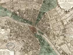 17-19世纪,巴黎的墙与门