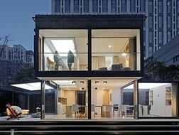 百变智居2.0,72平米的集装箱住宅 / 上海华都建筑规划设计