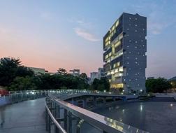 OPEN:清华大学海洋中心,功能复杂又开放的垂直校园