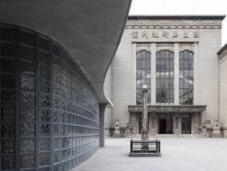 桂·花器,江苏省美术馆安检亭 / 东南大学风土建筑工作室