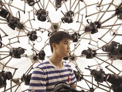 3D扫描舱:可以安装131台相机的三维扫描摄影棚(含视频)/ 众产品