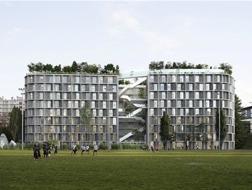 """非常建筑携 Coldefy & Associates 赢得巴黎国际大学城""""中国之家""""竞赛"""