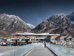 西藏 · 然乌湖国际自驾与房车营地/小隐建筑