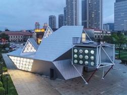 众空间:轻盈的预制结构文化中心/众建筑