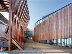 布景式空间设计:天津中加生态示范区展示中心 / CCDI渐进工作室
