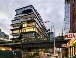 高线的新邻居:纽约520 West 28th公寓 / 扎哈·哈迪德建筑事务所