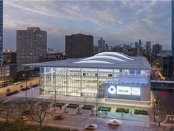 都市活力容器:Wintrust体育馆 / PCPA佩里·克拉克·佩里建筑师事务所