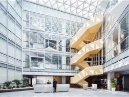 延续中的主题变奏:上海宝业中心室内设计 / 零壹城市