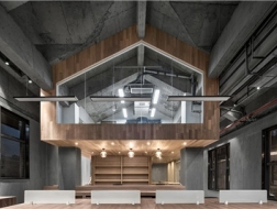 层叠空间:中山路共享办公空间 / VARY几里设计