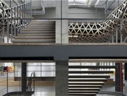 竹的延展:马蜂窝旅游网全球总部二期空间设计 / 袈蓝建筑