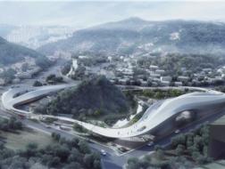 云中漫步:韩国异斯夫独岛纪念公园 / CAA建筑事务所