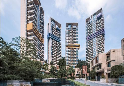 盒子的律动:南湖山庄高层住宅 / 华南理工大学建筑设计研究院