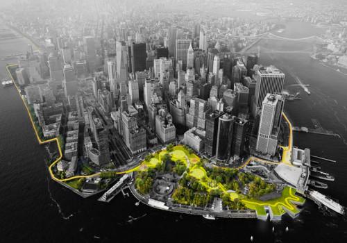 """BIG纽约大U开工:""""高线公园神话""""能否再次复制?"""