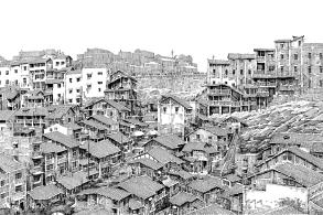 欧阳桦:笔尖下的重庆 | 建筑绘38