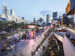 城市更新中滨水空间的转型与活化:悉尼达令港公共空间 / HASSELL