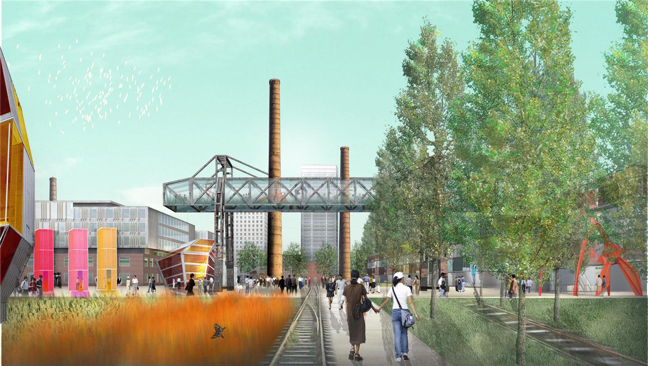 煤气_十年时间看规划原则的影响力:798艺术区愿景规划 / Sasaki – 有方