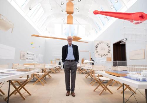 伦佐·皮亚诺作品展在英国皇家艺术学院举办