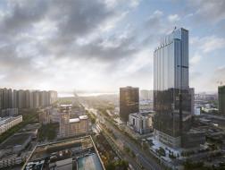 全方位呼应城市空间:湛江财富汇 / 悉地国际21设计工作室