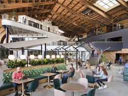 谷歌洛杉矶分部完工,看互联网巨头如何创意办公?
