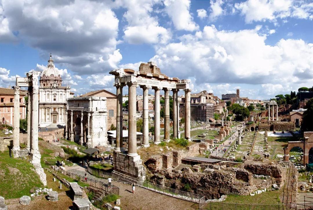 古罗马广场遗址