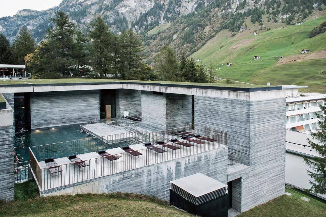 瓦尔斯温泉浴场