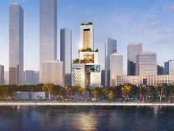 3D城市:MVRDV赢得万科总部大厦设计竞赛