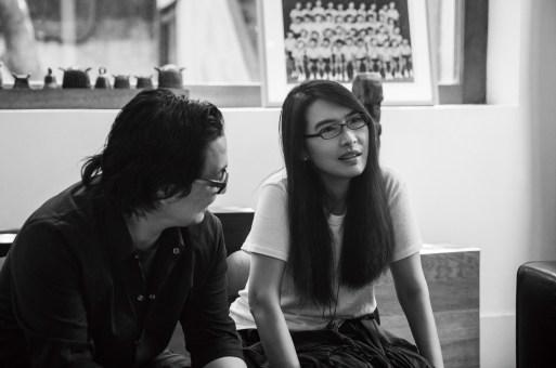 郭锡恩与胡如珊 x 王珞丹:建筑里面有它的灵魂