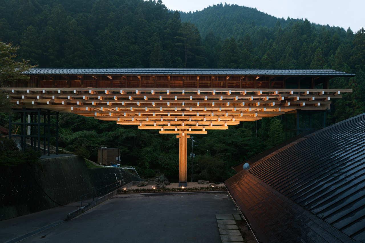 梼原木桥博物馆