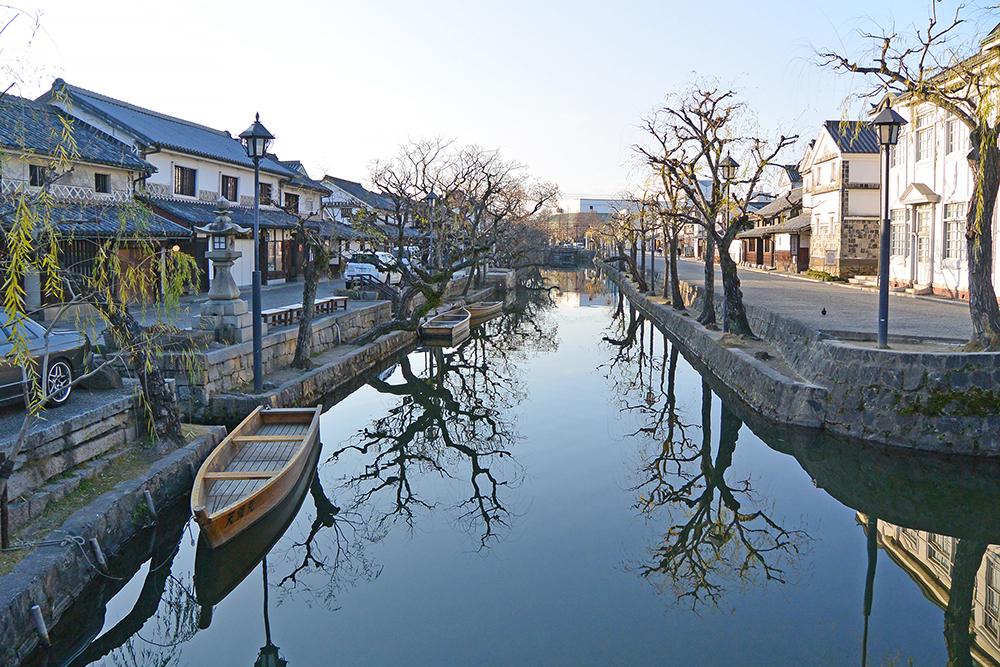 仓敷美观传统水街