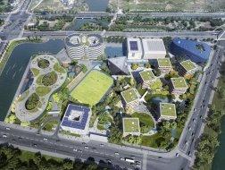 OPEN最新中小学项目方案公布:聚落校园/上海青浦平和双语学校
