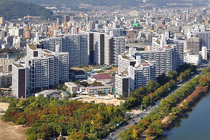 广岛市基町高层住宅区