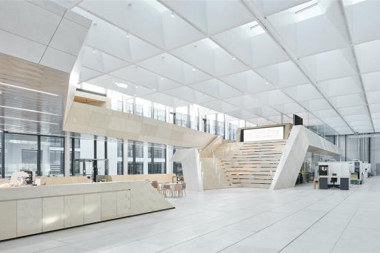 Snøhetta新作:日光与水晶的游戏,施华洛世奇Manufaktur大楼