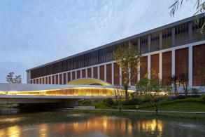 建筑形制的整合:北京外国语大学附属杭州橄榄树学校 / 言川建筑