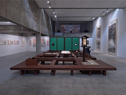 为北美渡一片中国山水:中国美院旧金山特展《渡去博古园畴》