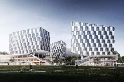杭州独角兽园区新动向:零壹城市揭晓个推总部设计