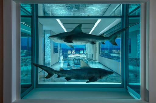 下榻地 | 頂級藝術家Damien Hirst在賭城造了一場20萬美元的夢