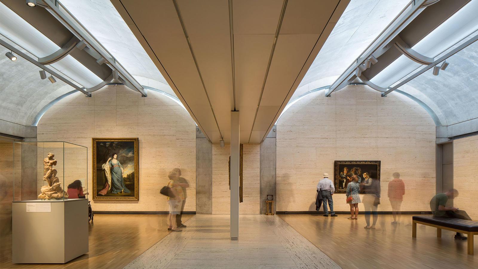 经典再读20 金贝尔美术馆:光的演奏 有方
